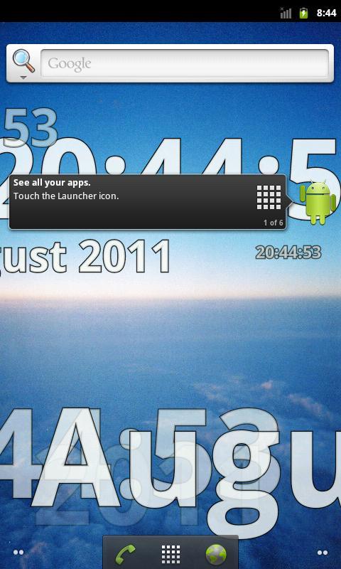 Time Flies PRO LW- screenshot