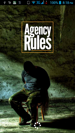 AGENCY RULES The Spy Thriller
