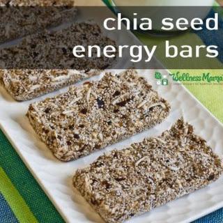 Chia Seed Energy Bars.