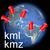 KML/KMZ Waypoint Reader Free
