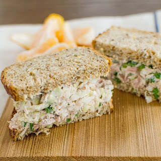Crisp Tuna-Cabbage Salad.
