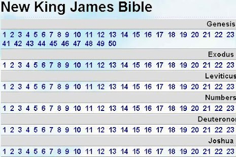 New King James Bible - screenshot thumbnail