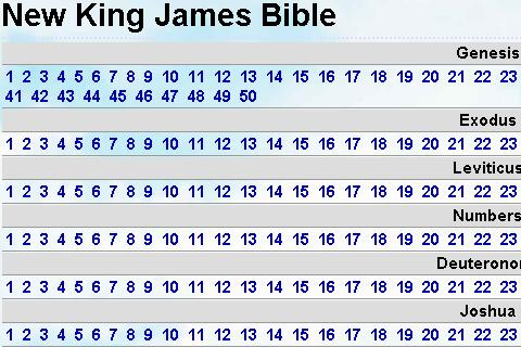 New King James Bible - screenshot