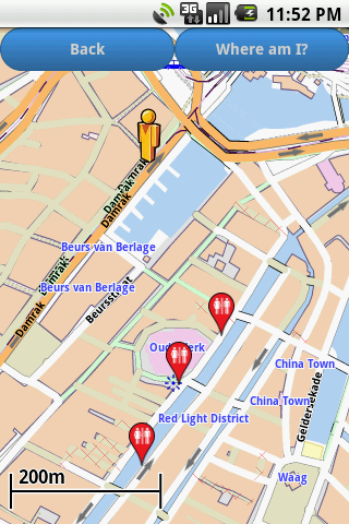 Amsterdam Amenities Map