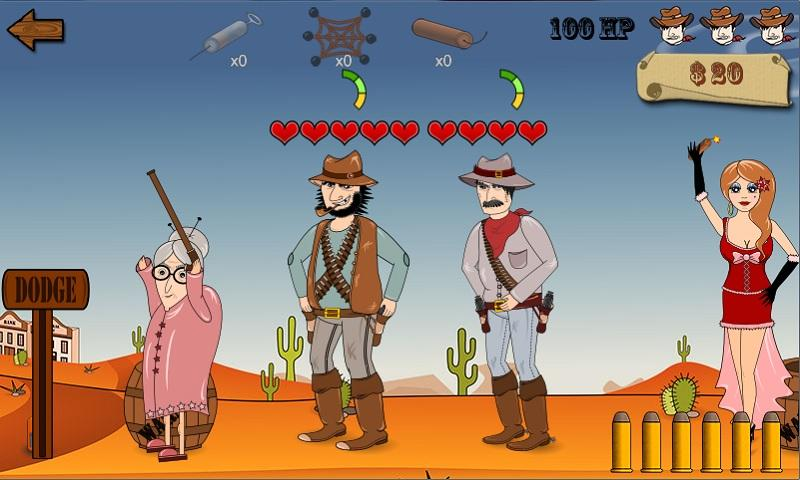 Wild Johnson's Revenge Free- screenshot