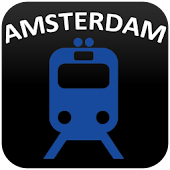 Amsterdam Metro and Tram Map