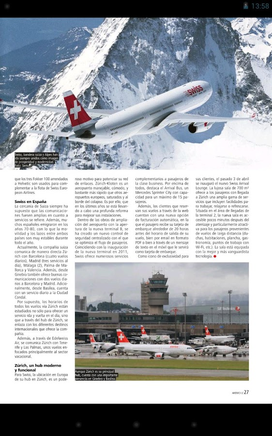Avion Revue Internacional ESP- screenshot