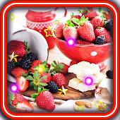 Fruit n Cakes live wallpaper