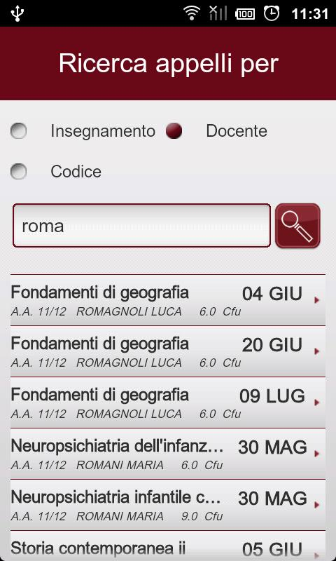 Infostud Mobile- screenshot