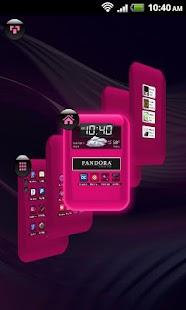 TSF Shell Theme Hot Pink HD - screenshot thumbnail