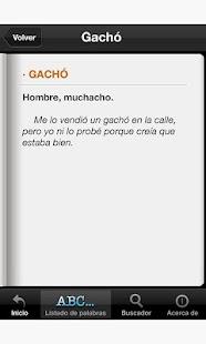 Diccionario del Español Coloqu- screenshot thumbnail