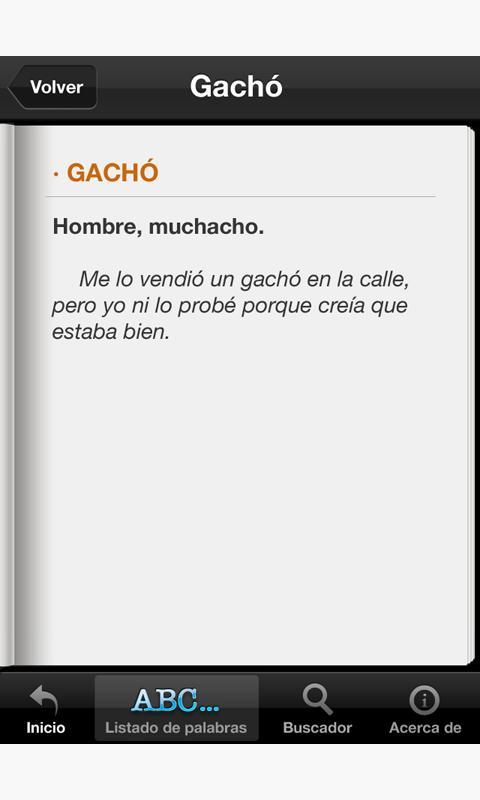 Diccionario del Español Coloqu- screenshot