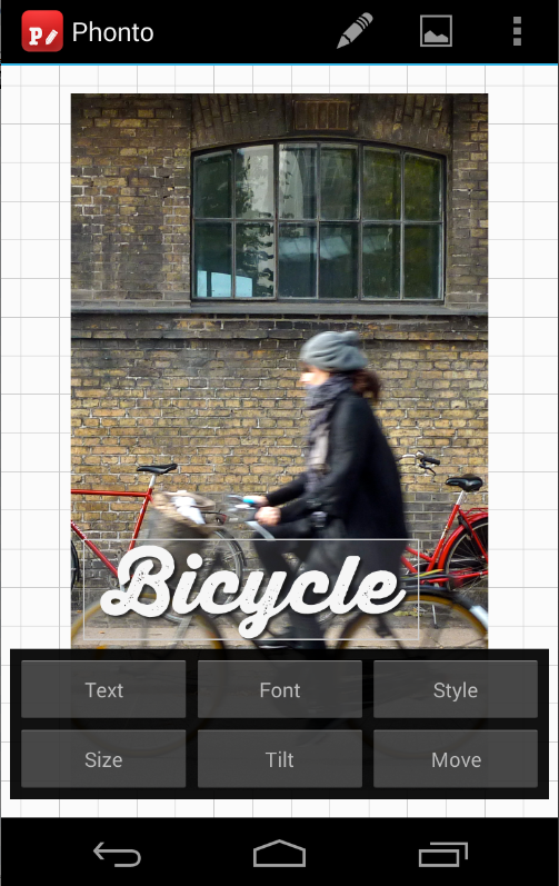 Screenshots of Phonto - Text on Photos for iPhone