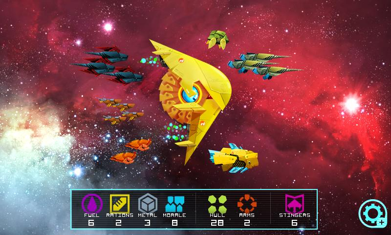 Astro Frontier - screenshot