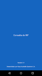 Consulta de RIF - screenshot thumbnail