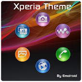 Theme Xperia - Smart Launcher