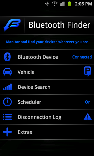 Bluetooth Finder