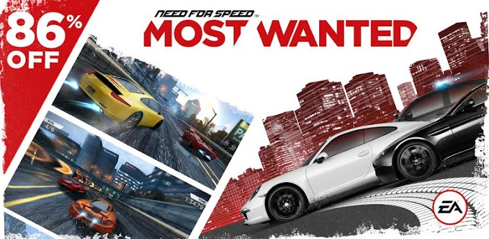 Need for Speed™ Most Wanted v1.0.46 - Bóng ma tốc độ (game Android)