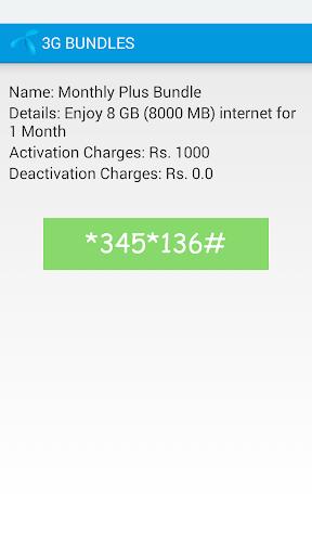 Telenor 3G Packages