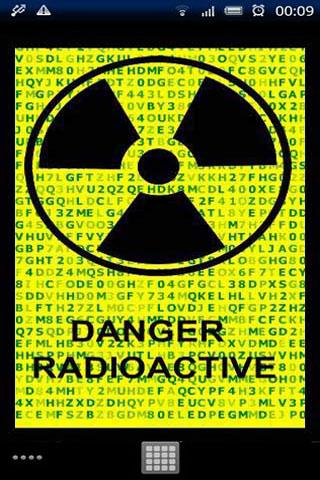 Radioactive Sign Live Wallpape - screenshot