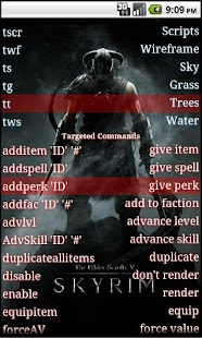 Skyrim console commands - screenshot thumbnail