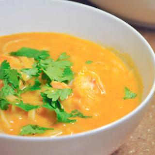 Thai Shrimp Fire Pot Soup