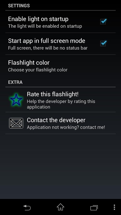 Flashlight HD PRO - screenshot