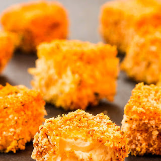 Crunchy & Spicy Baked Tofu Nuggets.