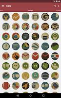 Screenshot of Vintage - Icon Pack