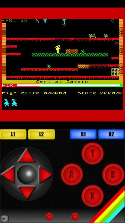 Xpectroid ZX Spectrum Emulator- screenshot