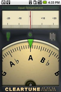Cleartune - Chromatic Tuner: miniatura de captura de pantalla