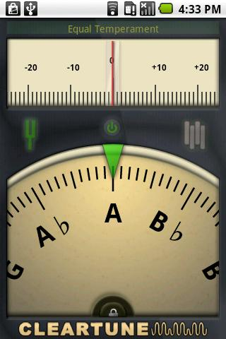 Cleartune - Chromatic Tuner - screenshot