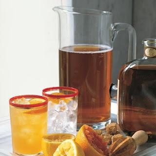 Citrus Arnold Palmer with Bourbon.