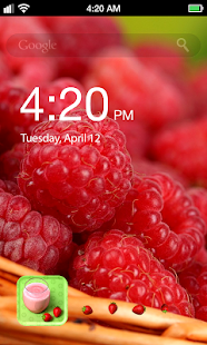 Fruit Beauty Lock Screen