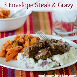 3 Envelope Steak and Gravy.