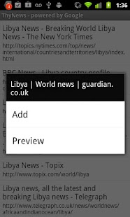 ThyNews for Android - screenshot thumbnail