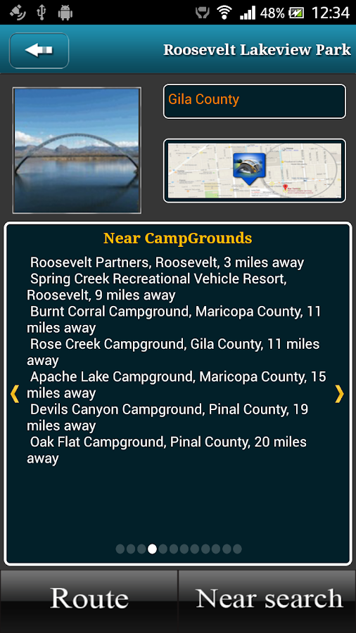 Arizona Campgrounds- screenshot