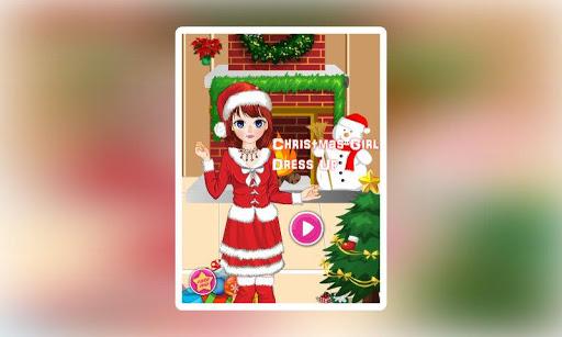 女孩聖誕裝扮2