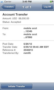 J.P. Morgan ACCESS Mobile - screenshot thumbnail
