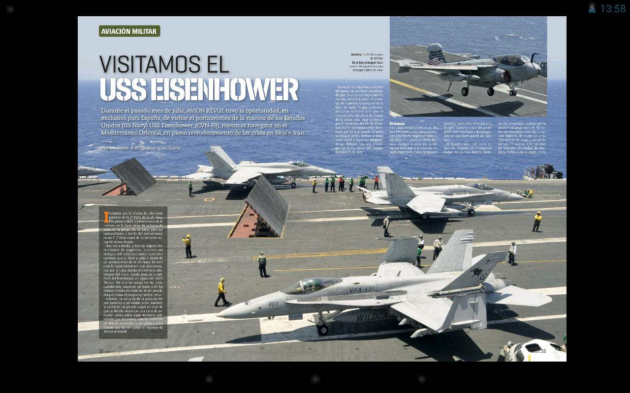 Avion Revue Internacional ESP - screenshot