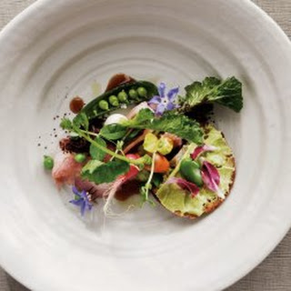 Veal with Fava Bean Butter.