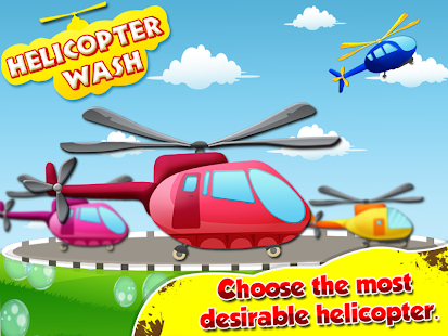 Helicopter Mechanic -Kids Wash