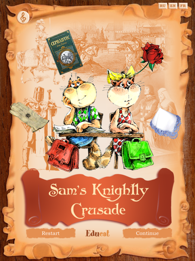 Sam the Knight- screenshot