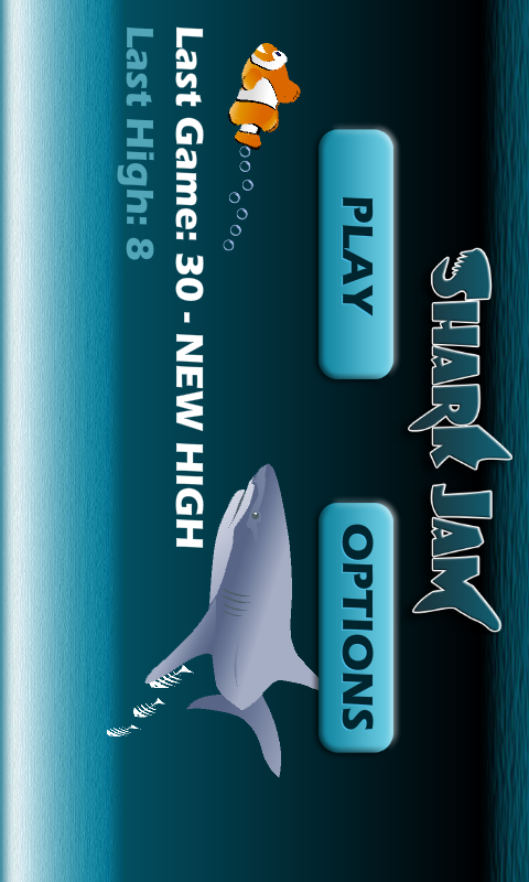 Shark Jam- screenshot
