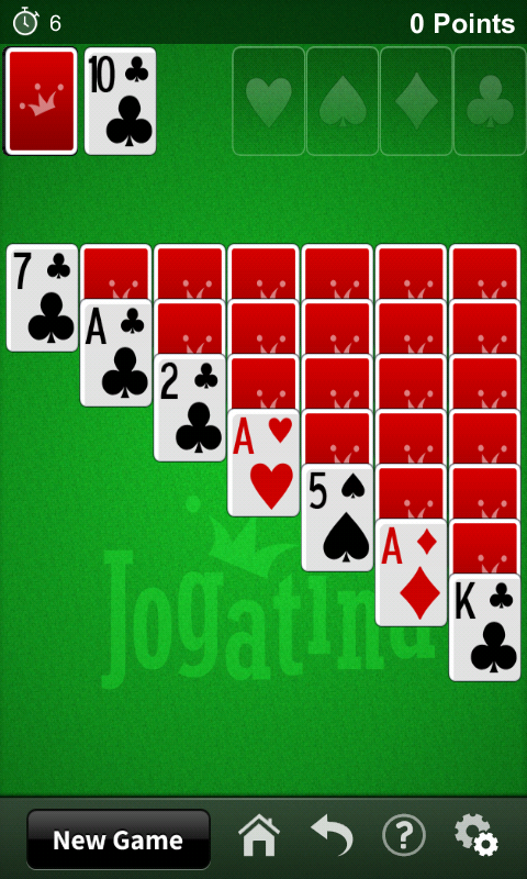 Solitaire Jogatina - screenshot