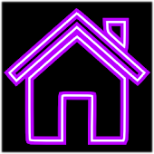 Purple Neon Free Theme