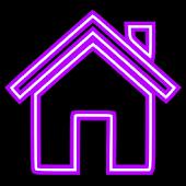 Purple Neon Free Theme