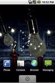 Fireflies Live Wallpaper Free Screenshot 2