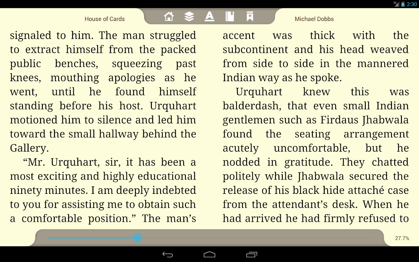 E-Books Reader App- screenshot