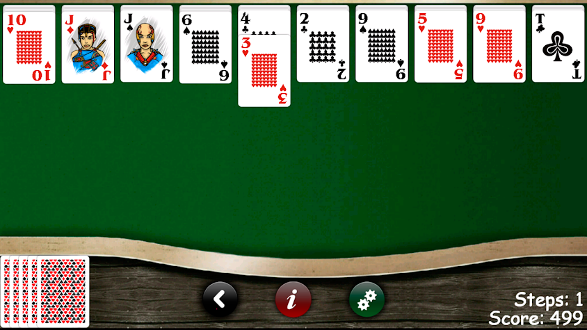 Spider & Solitaire Screenshot